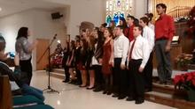 BHS Choir at United Church Christmas 2014