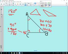 Math 110  - Lesson1 Pythagorean Review