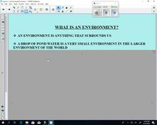 Env Sc 120 - Lesson 2 -  Environmental Concerns