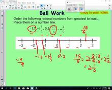 Math 9 - Lesson 2