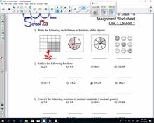 GMF Lesson 3 - Fractions Quiz