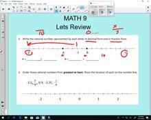 Math 9 Lesson 3