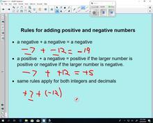 Math 9 Lesson 5